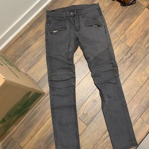 Hudson grey chic style jeans